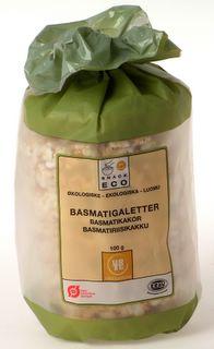 Urtekram Risgaletter basmati Ø - 100 G