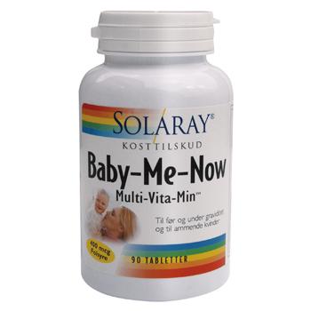 Image of   Solaray Baby-Me-Now Multi-Vitamin - 90 Tabl