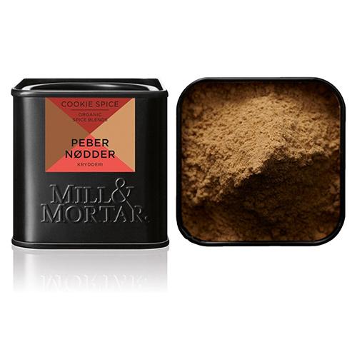 Billede af Mill & Mortar Pebernødder Cookie Spice Ø - 50 G