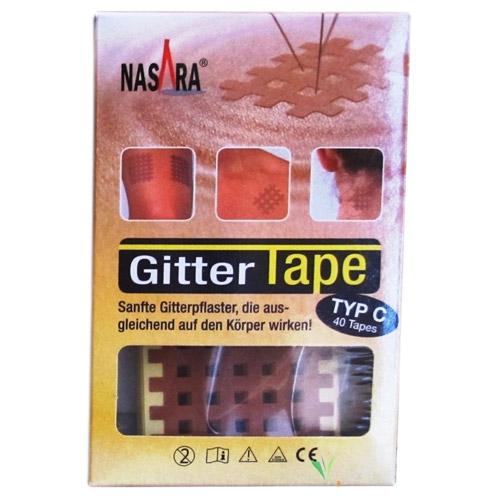 Image of   Gittertape Typ C 40 Stk. Nasara - 1 Pakk