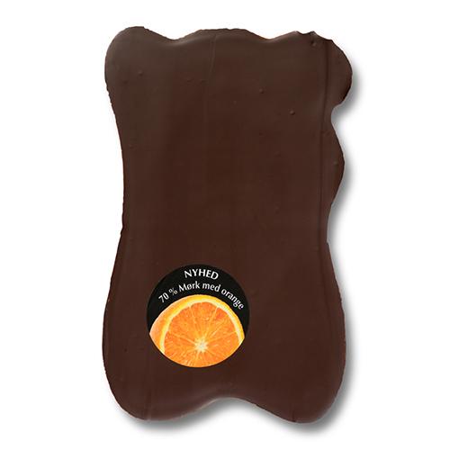 Økoladen Chok O Blok Mørk Orange & Knas - 150 G
