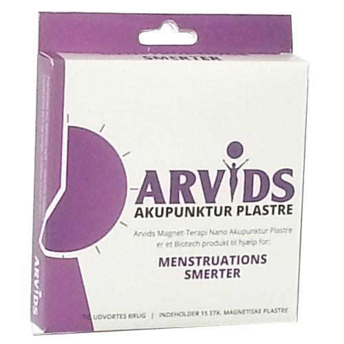 Arvids Akupunktur Plastre Menstrution Smerter 15 Stk. - 1 Pakk