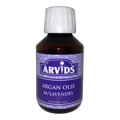 Image of Arvids Argan Olie M. Lavendel - 100 ml