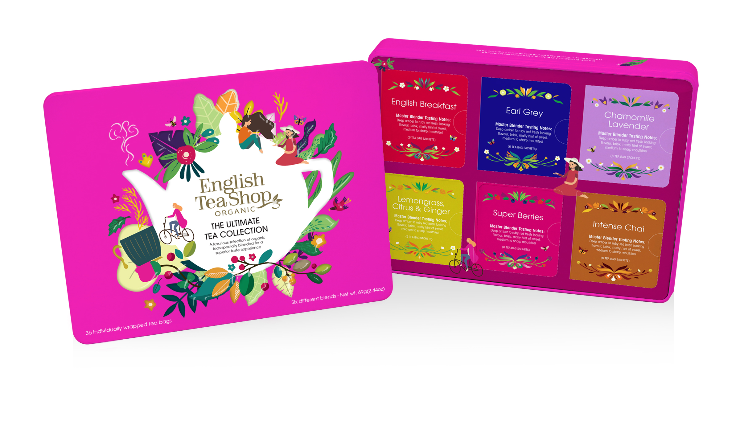 Image of   English Tea Shop Ultimate Tea Collection Ø 36 Br. - 1 Pakk