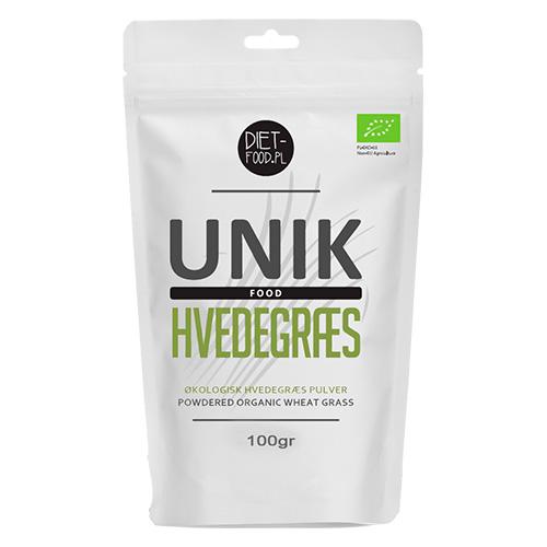 Diet-food hvedegræs pulver