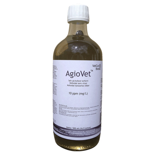 Image of   Agiovet Kolloid Sølv - 500 ml