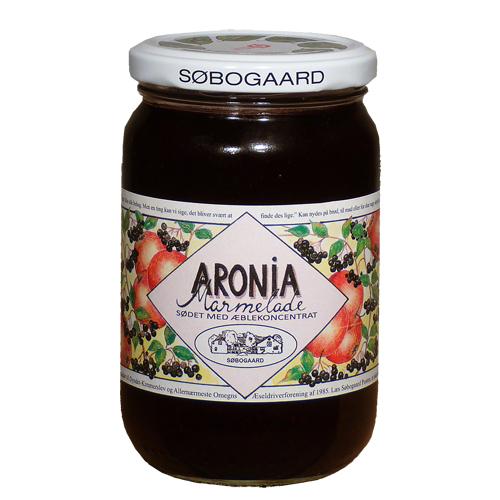 Image of   Aronia marmelade Ø sødet m æble - 390 G