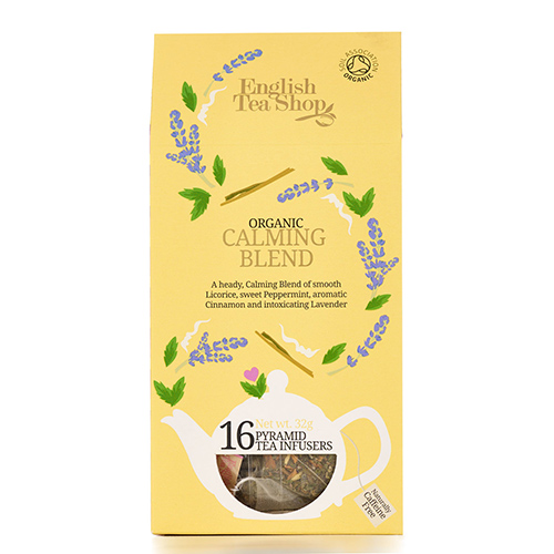 Image of   English Tea Shop Calming Blend Tea Ø - 16 Brev
