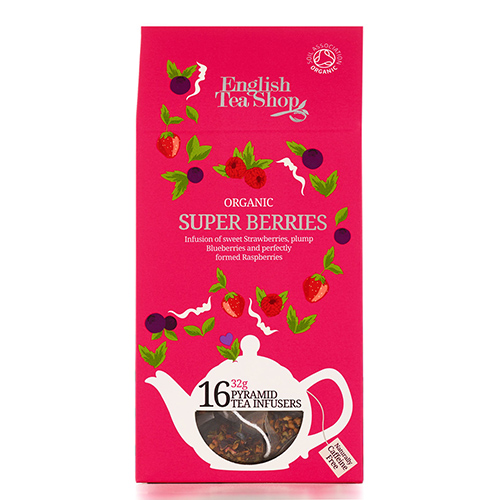 Image of   English Tea Shop Super Berries Tea Ø - 16 Brev