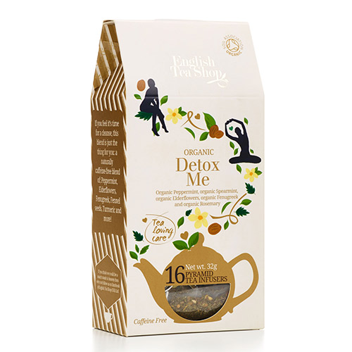 Image of   English Tea Shop Loving care tea Detox Me Ø - 16 Brev