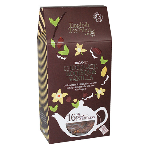 Image of   English Tea Shop Chocolate, rooibos,vanilla tea Ø - 16 Brev
