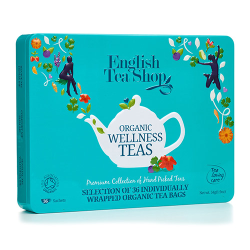 Image of   English Tea Shop Gaveæske Te Wellness Ø Organic - 1 Pakk
