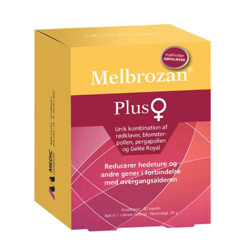 Image of   Melbrozan Plus - 60 Kaps