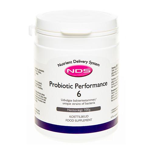Billede af NDS Probiotic Performance 6 - 100 G