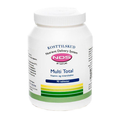 Billede af NDS Multi Total - multivitamin- og mineral - 90 Tabl
