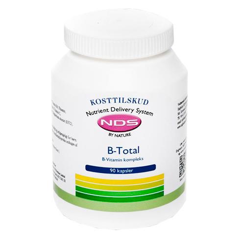 Billede af NDS B-Total Vitamin - 90 Tabl