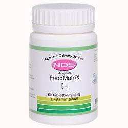 Billede af NDS E+ E-vitamin - 90 Tabl