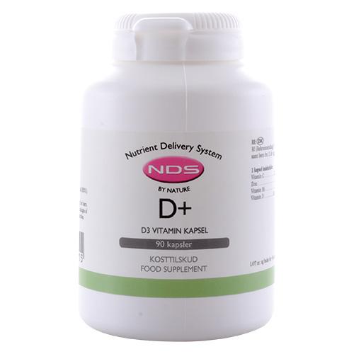 Billede af NDS D3+ D-Vitamin - 90 Kaps