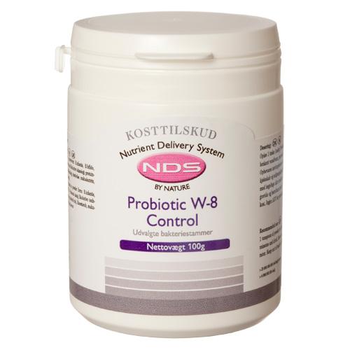 Billede af NDS Probiotic W-8 Control - 100 G