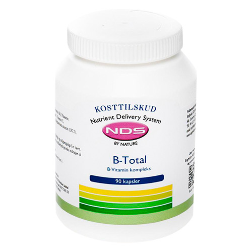 Billede af NDS B-Total Vitamin - 250 Tabl