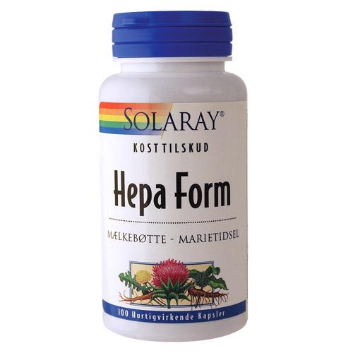 Image of   Solaray Hepa Form - 100 Kaps