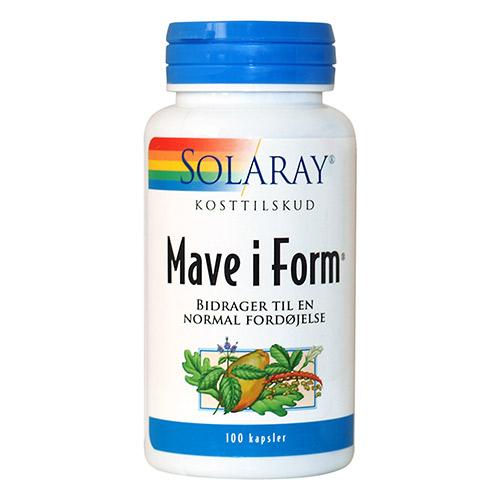 Image of   Solaray Mave i Form - 100 Kaps