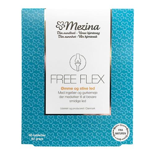 Billede af Mezina Free Flex - 60 Tabl
