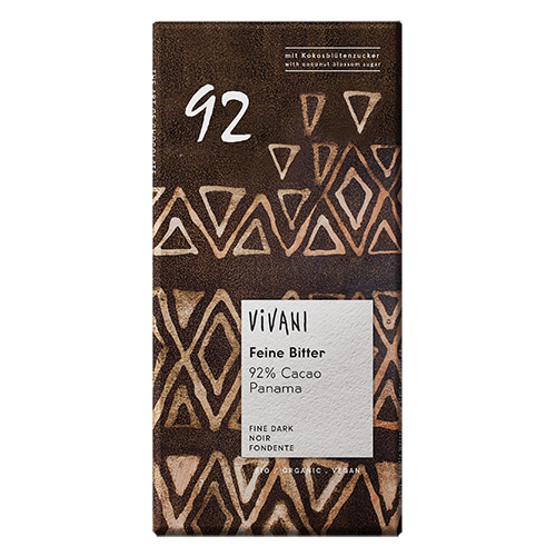 Vivani Ekstra MøRK92% Kakao Ø 80 G