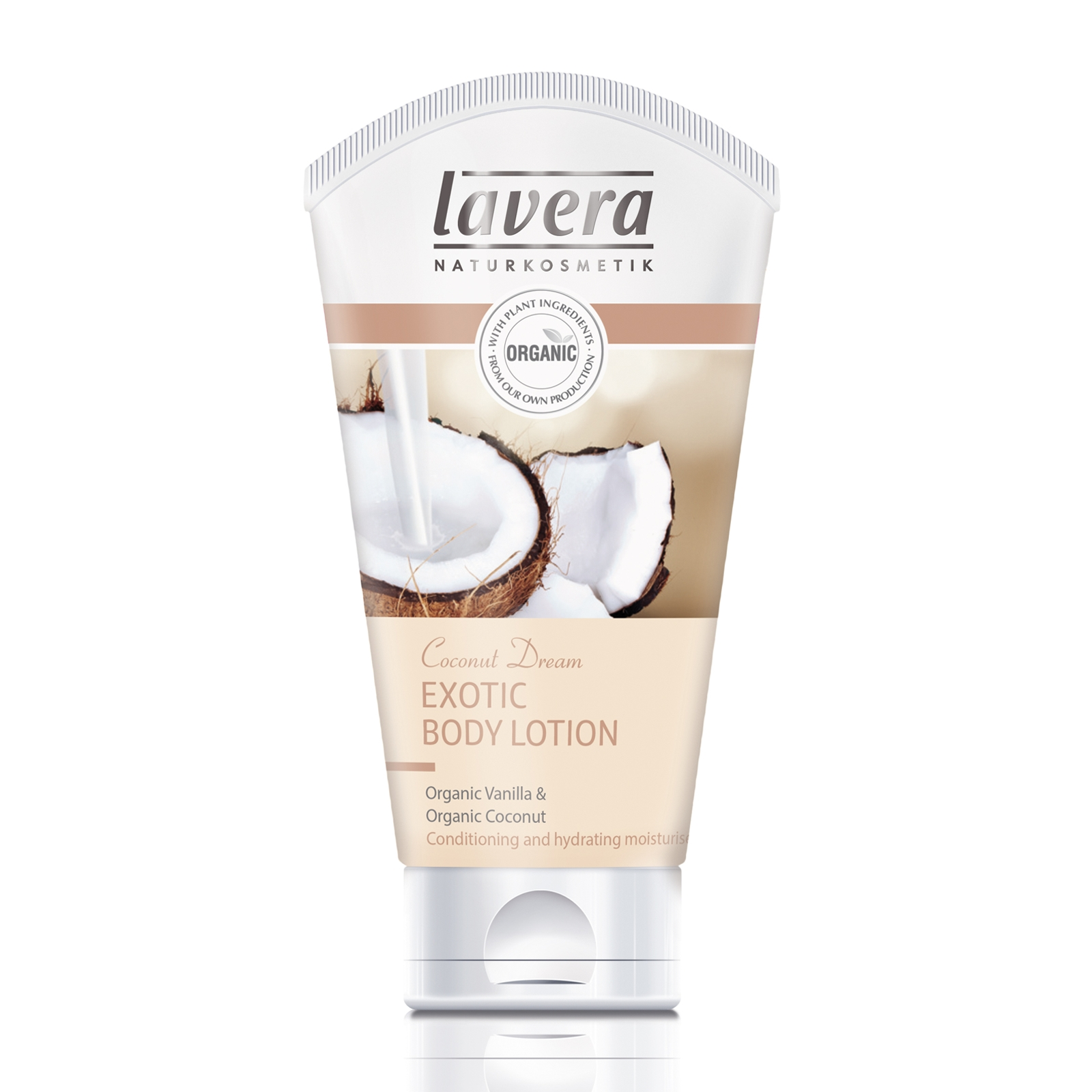 Image of   Lavera Body Lotion m. Kokos & Vanilje - 200 ml