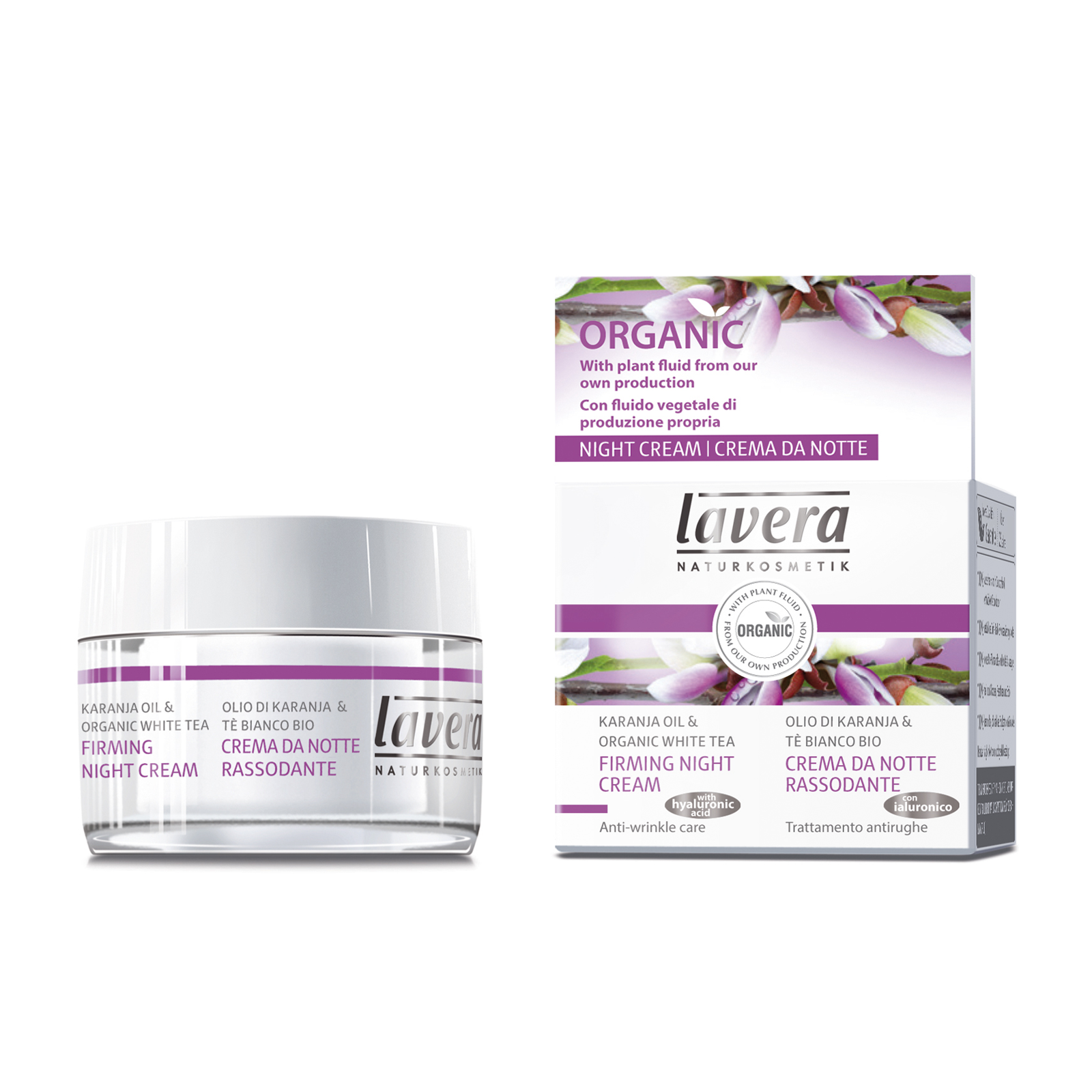 Image of   Lavera Firming Night Cream - 50 ml