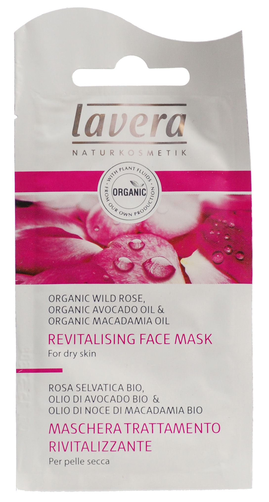 Image of   Lavera Deep Hydrating Mask Wild Rose - 10 ml