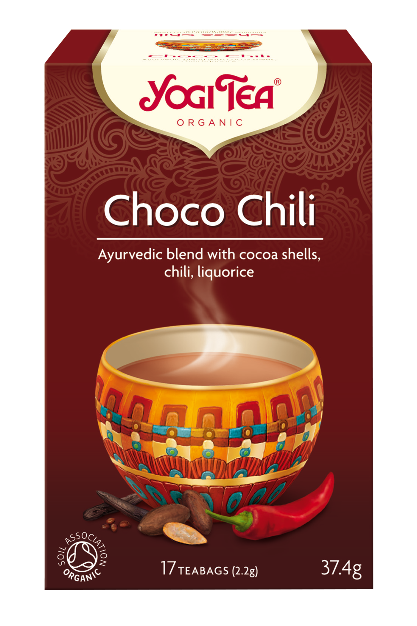 Yogi Tea Choco Chili Te - 17 Brev
