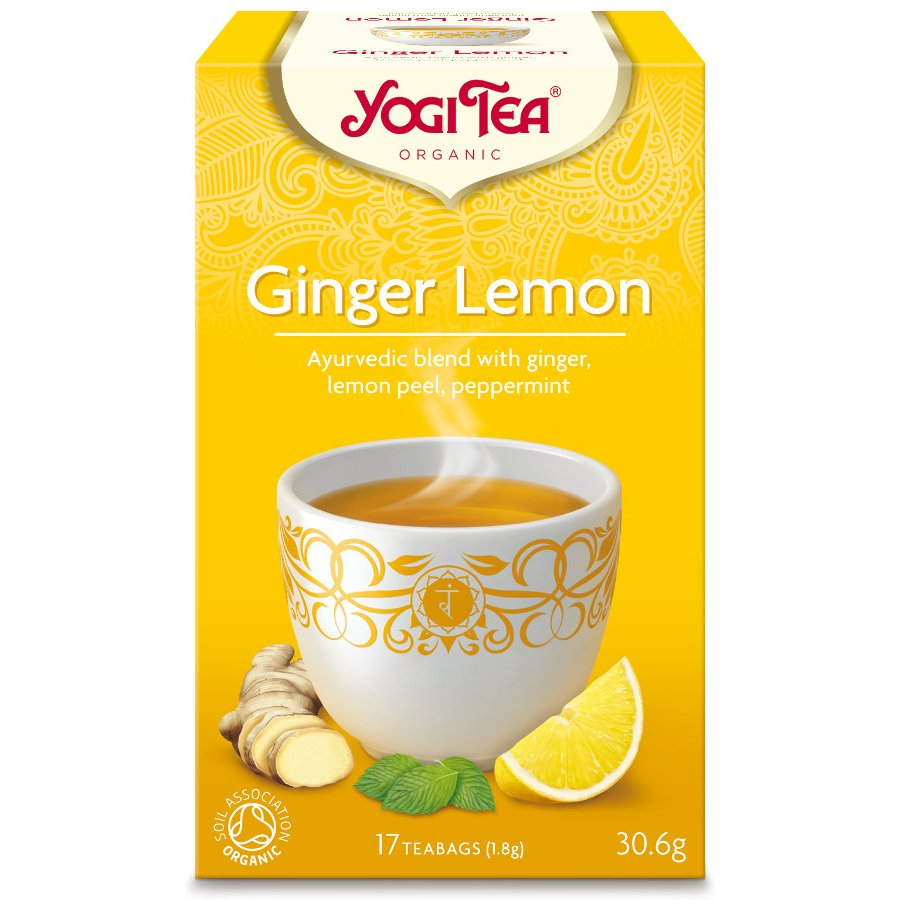 Yogi Tea Ginger Lemon Te - 17 Brev