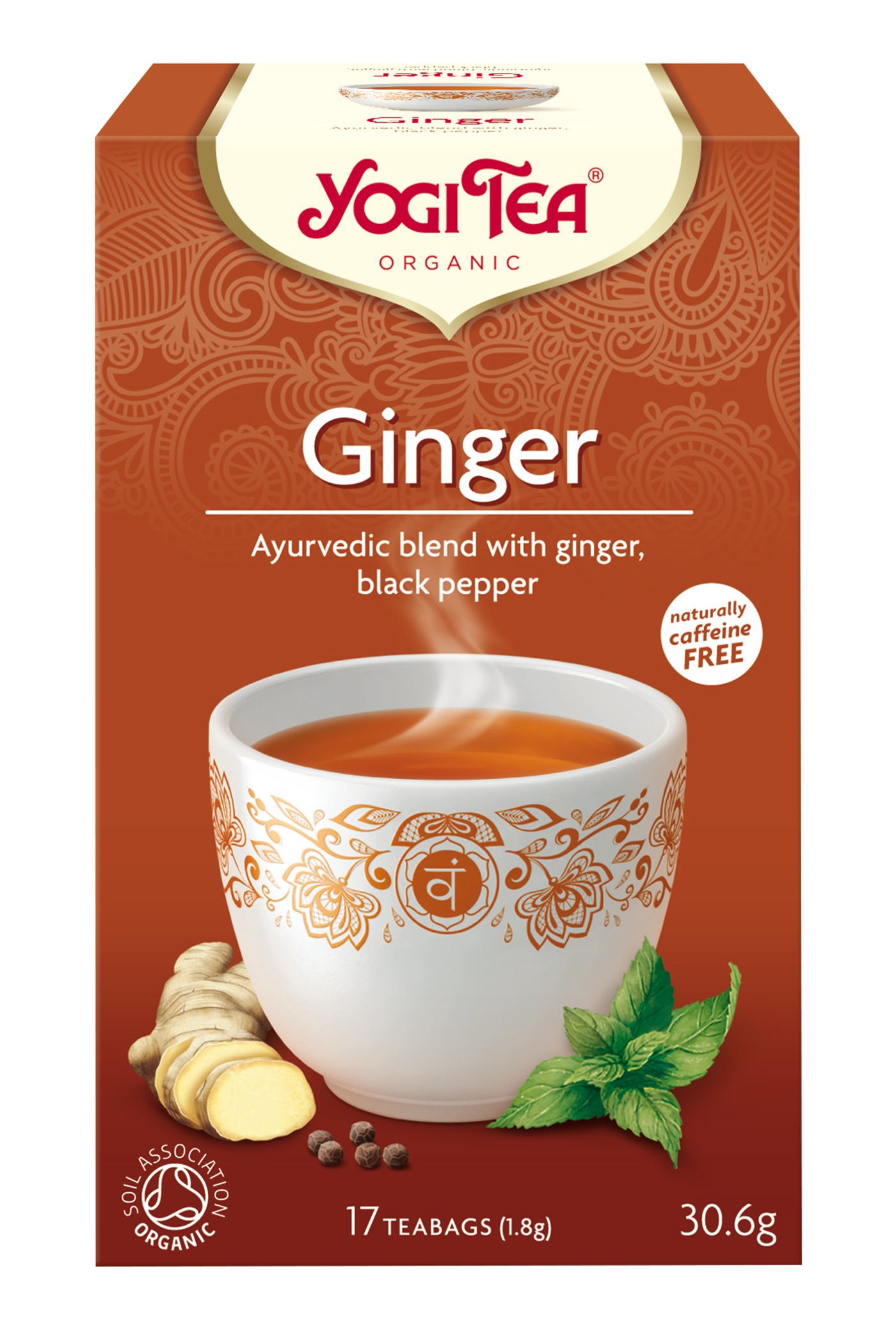 Yogi Tea Ginger Te - 17 Brev
