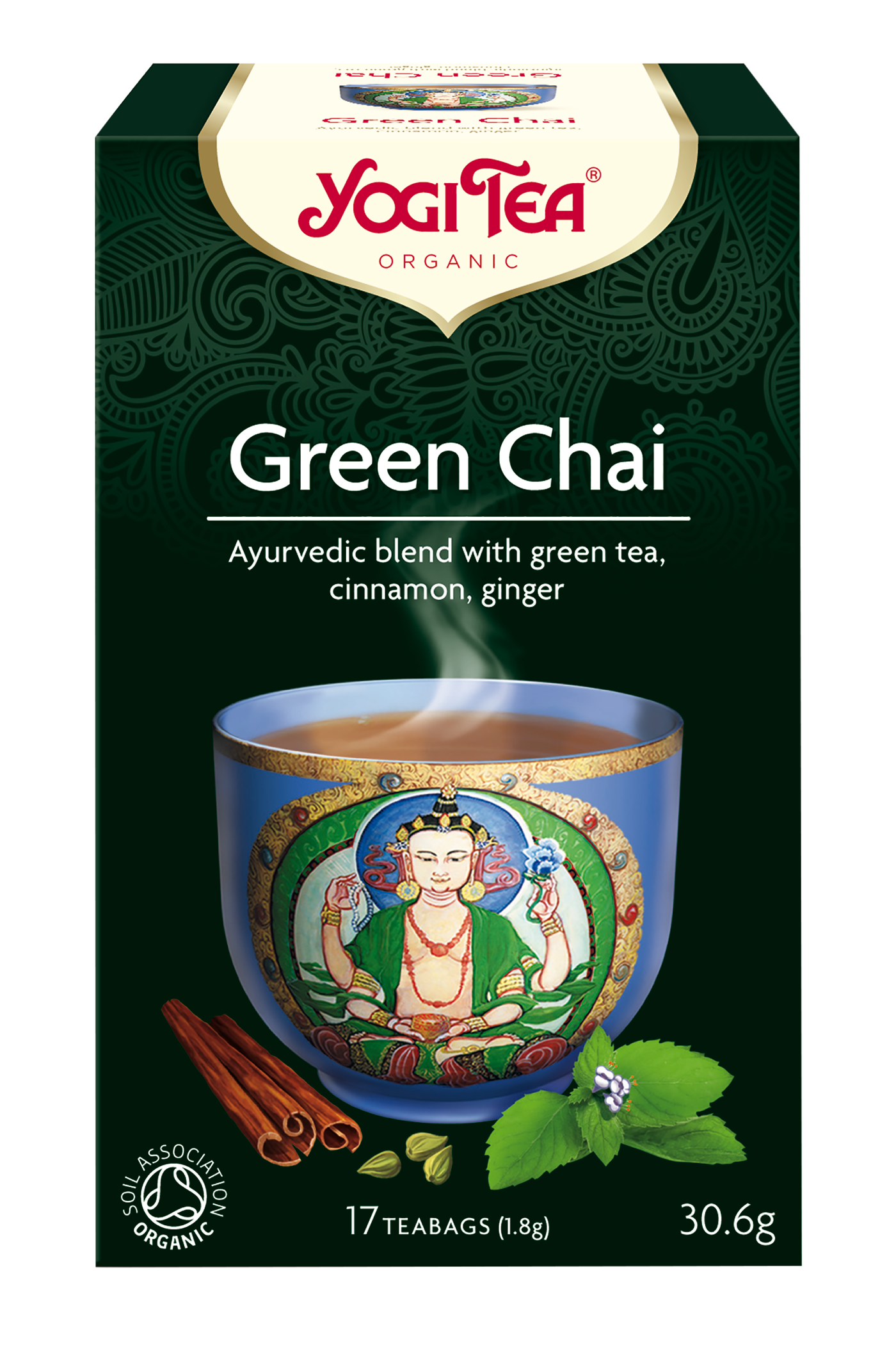 Yogi Tea Green Chai Te - 17 Brev