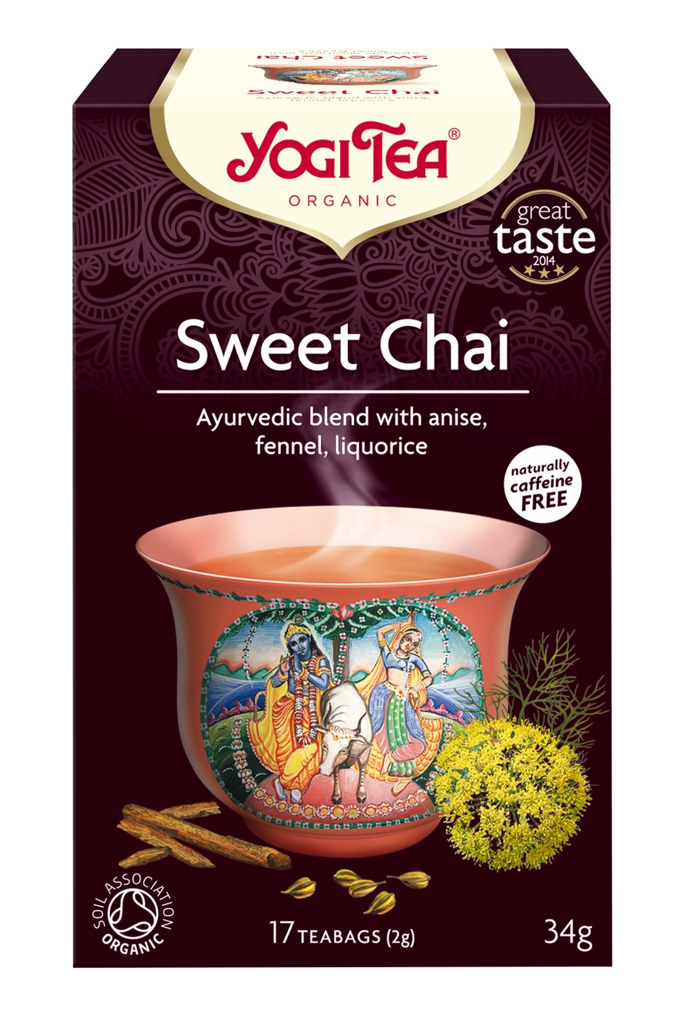 Yogi Tea Sweet Chai Te - 17 Brev