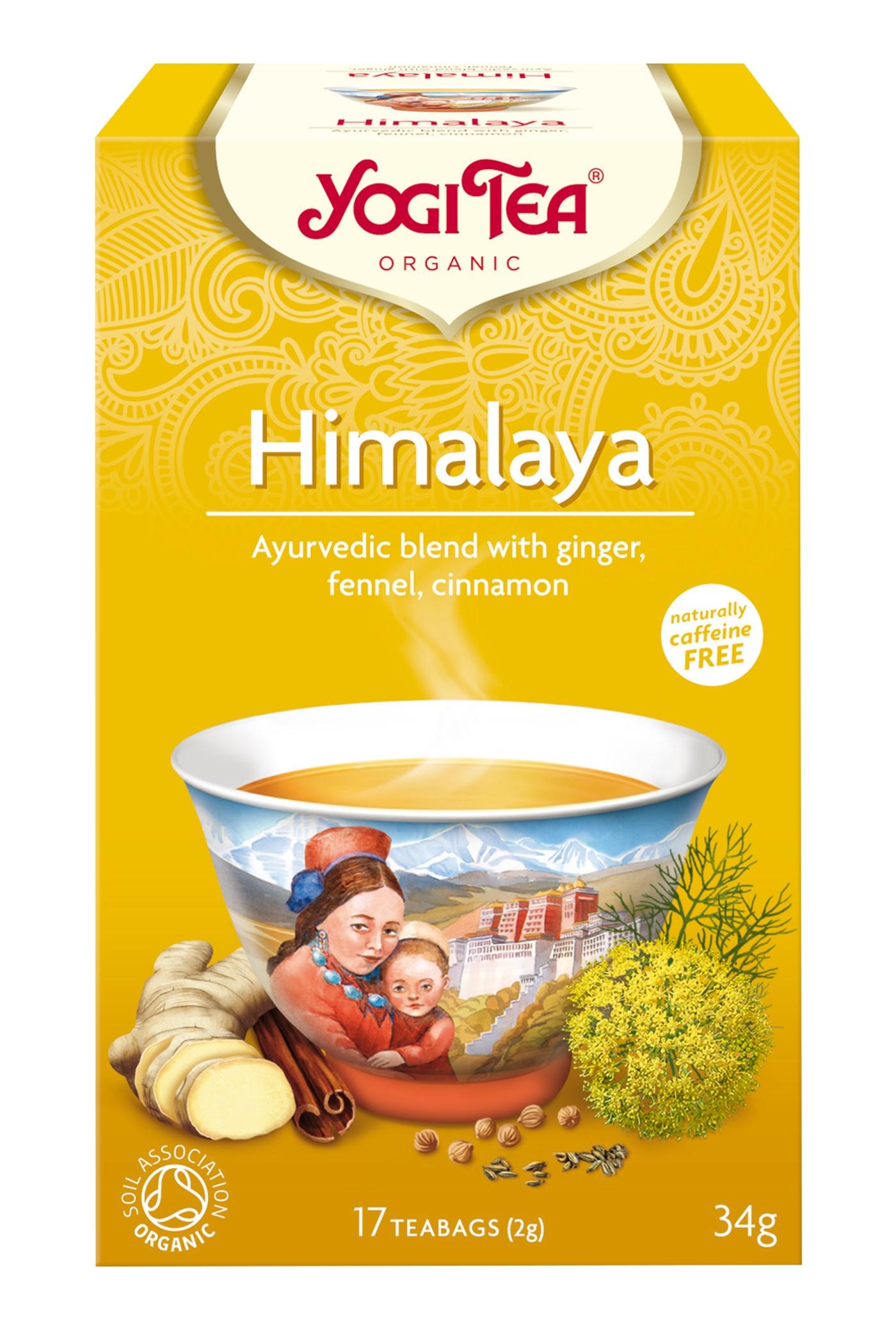 Yogi Tea Himalaya Chai Te - 17 Brev