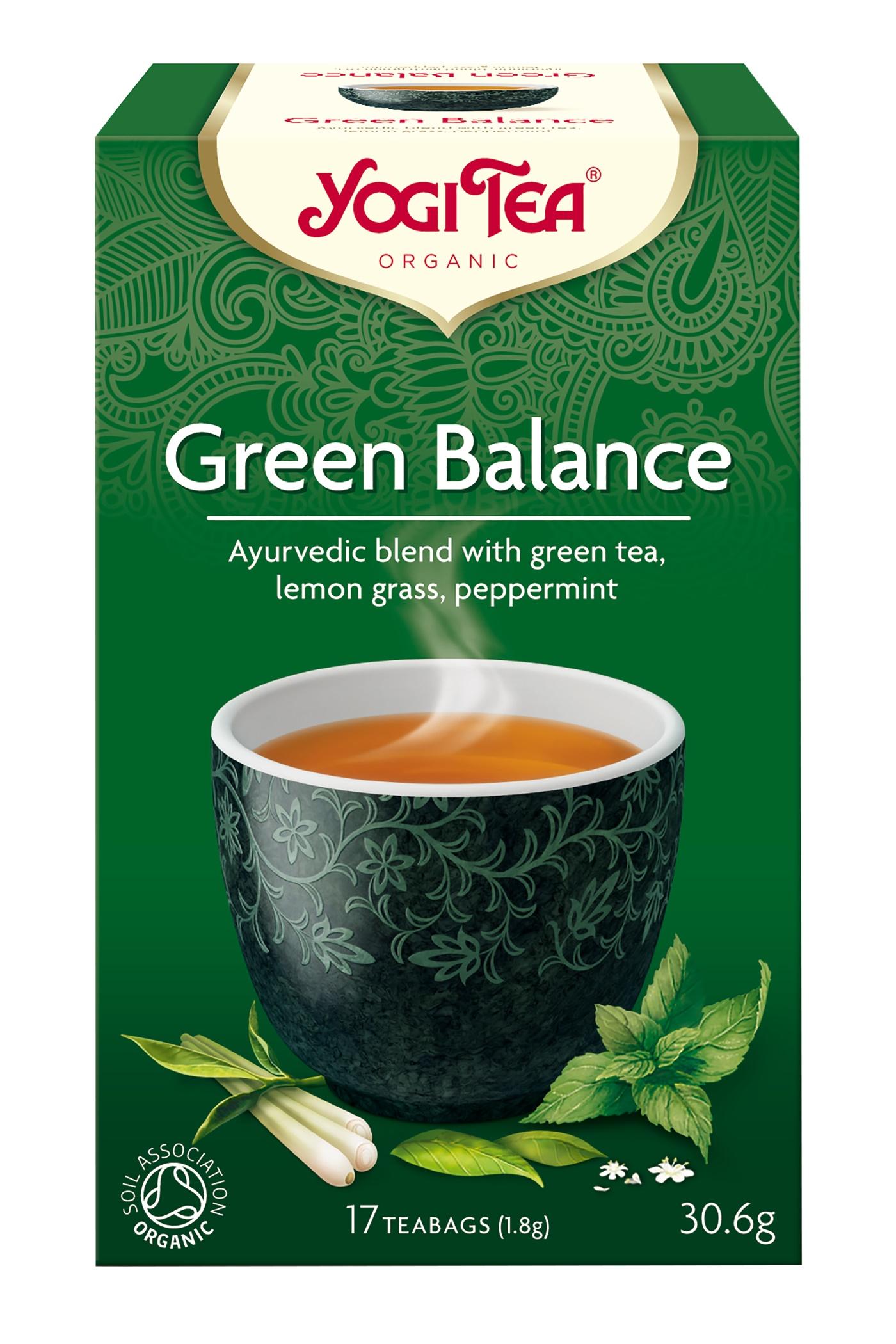Yogi Tea Green Balance Te - 17 Brev