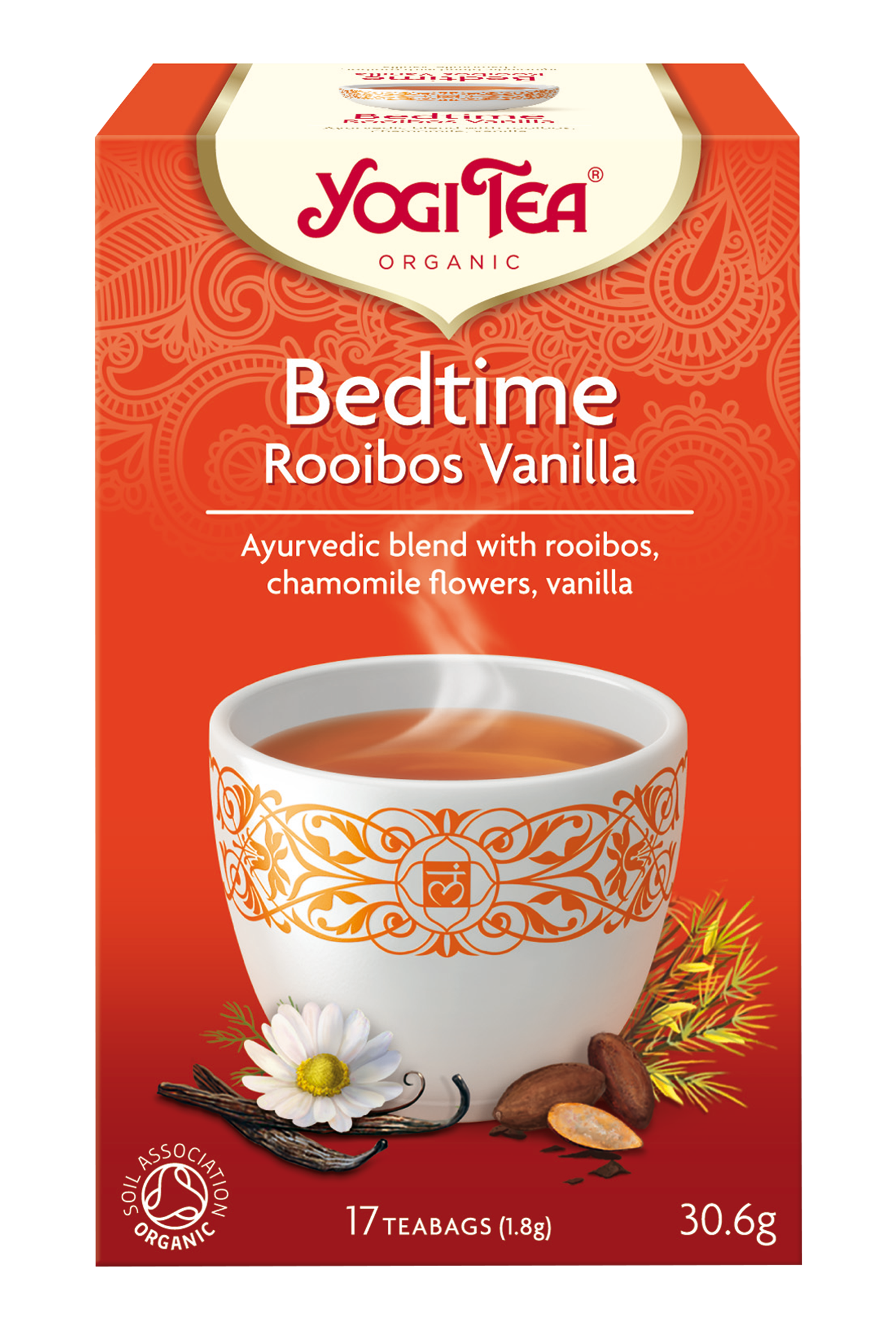 Yogi Tea Bedtime Rooibos Vanilla Te - 17 Brev