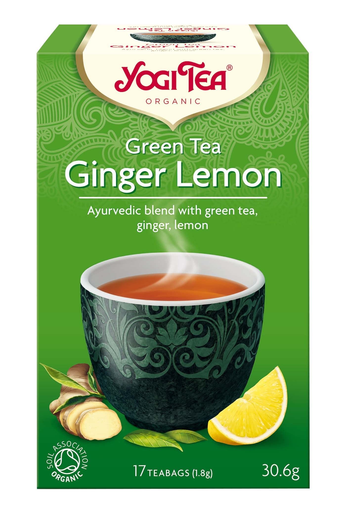 Yogi Tea Green Tea Ginger Lemon Te - 17 Brev