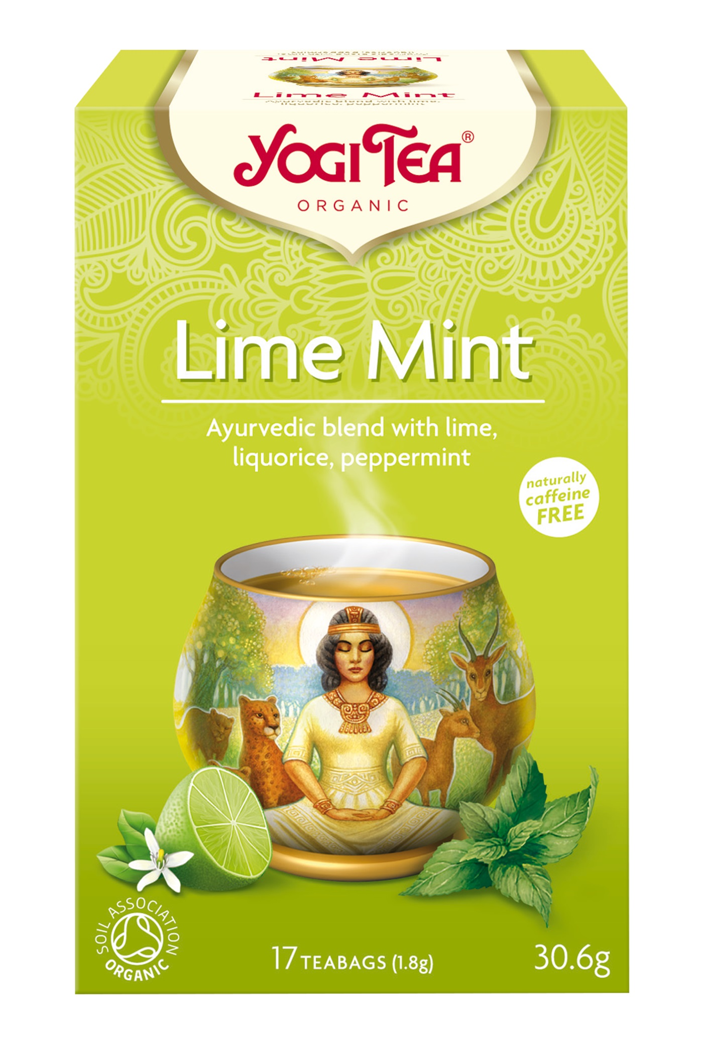 Yogi Tea Lime Mint Te - 17 Brev