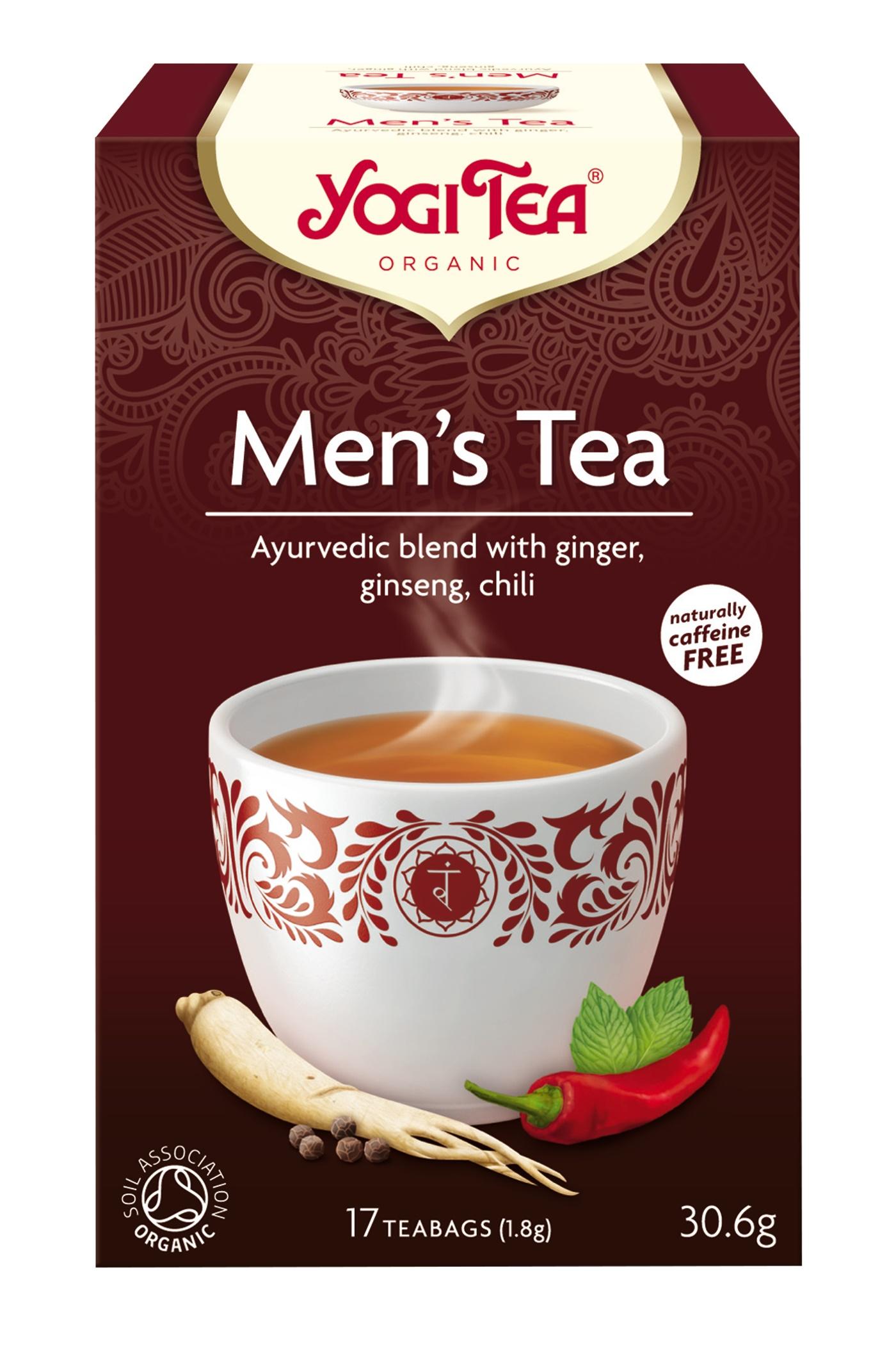 Yogi Tea Men s Tea - 17 Brev