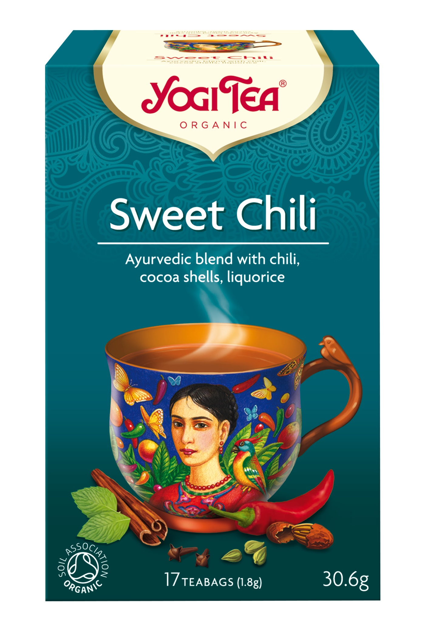 Yogi Tea Sweet Chili Te - 17 Brev