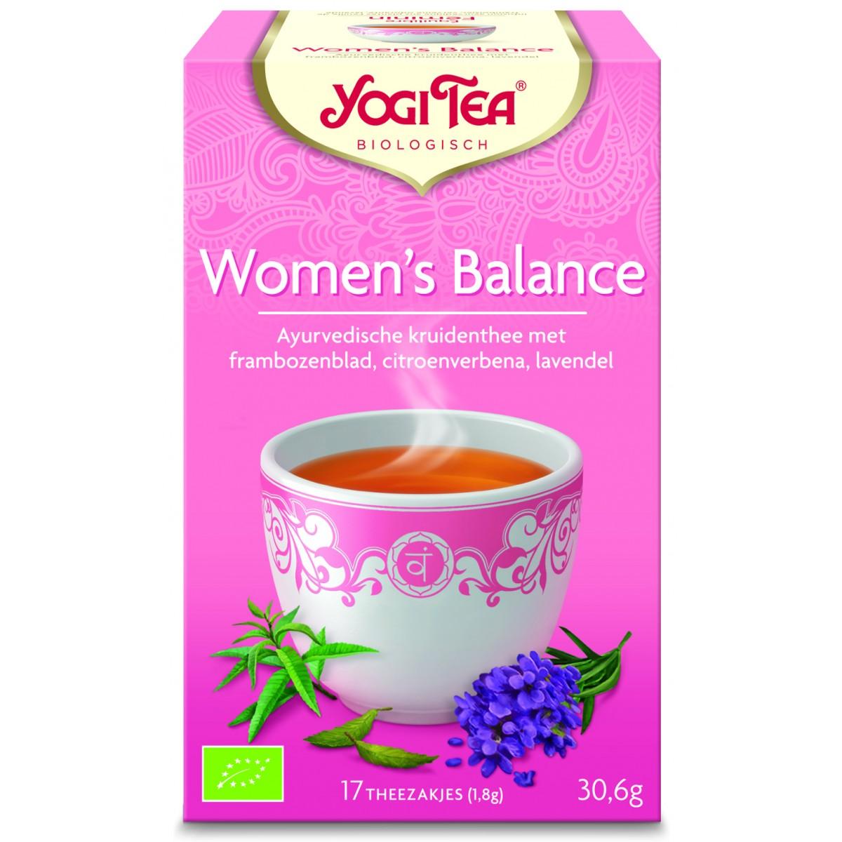 Yogi Tea Women s Balance Te - 17 Brev
