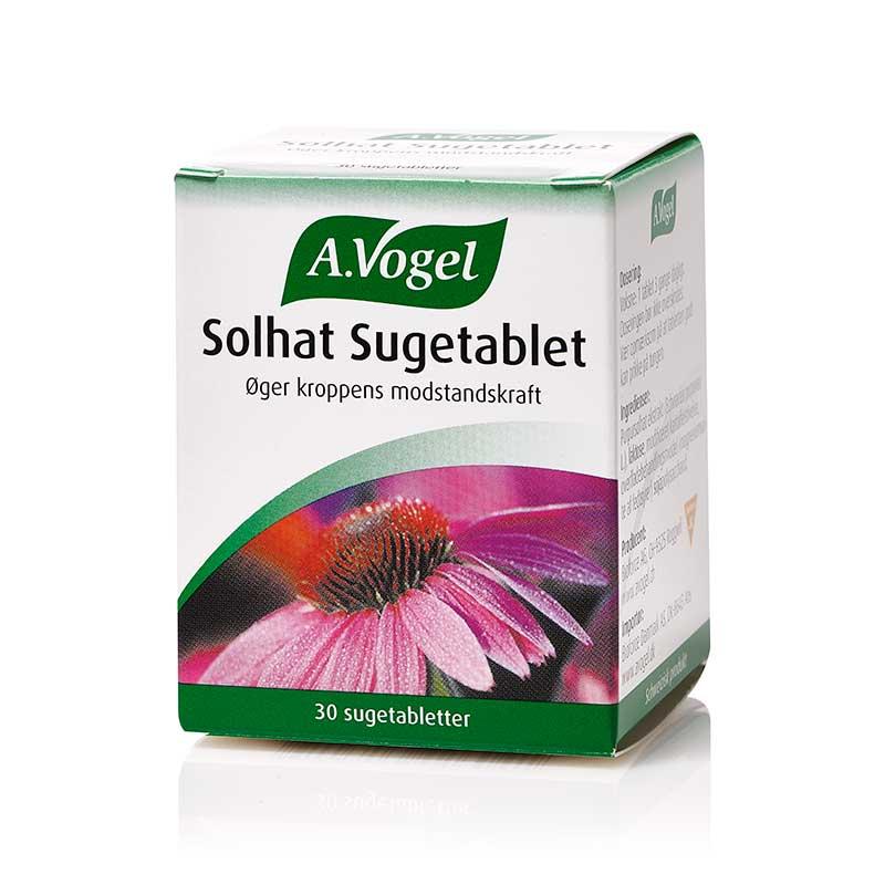 Image of   A. Vogel Solhat Sugetabletter - 30 Tabl