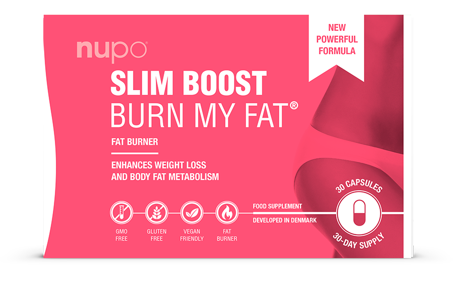 Image of   Nupo Slim Boost Burn My Fat - 30 Kaps