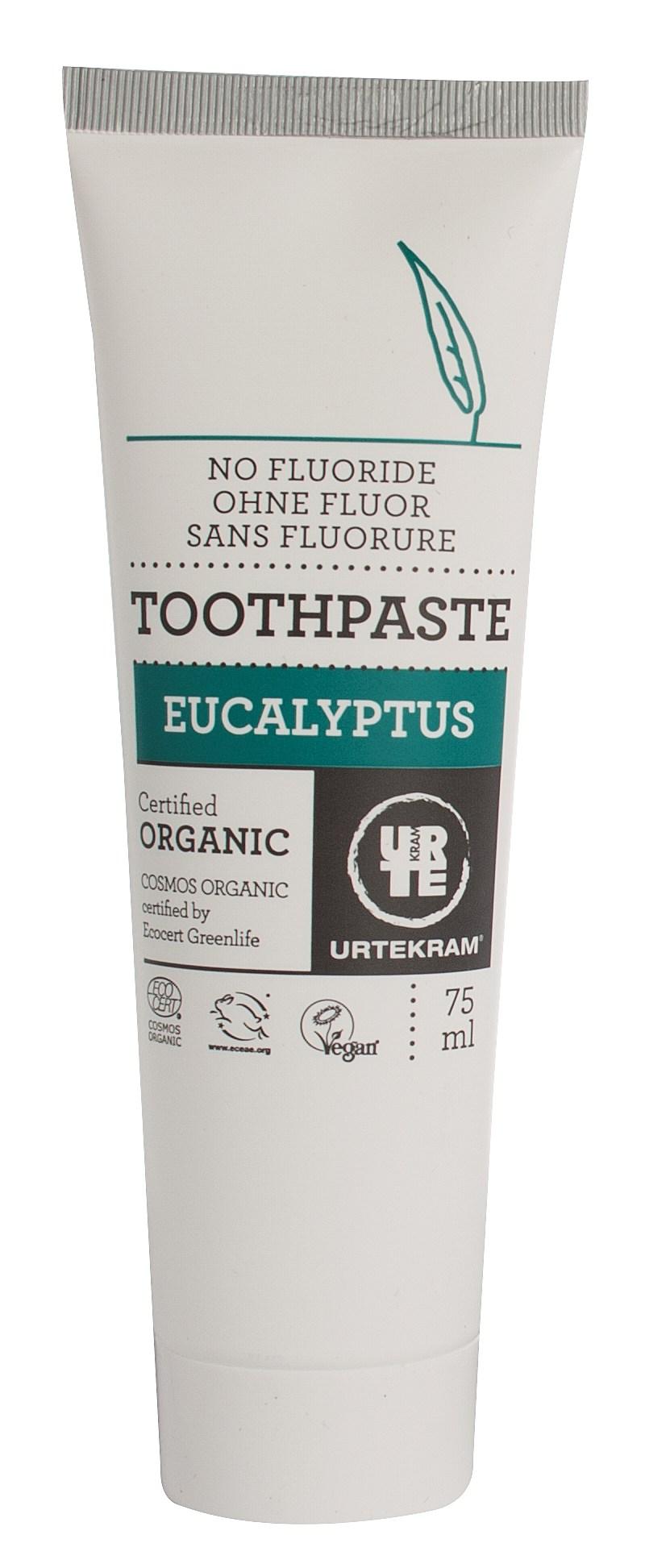 Urtekram Tandpasta Eucalyptus - 75 ml