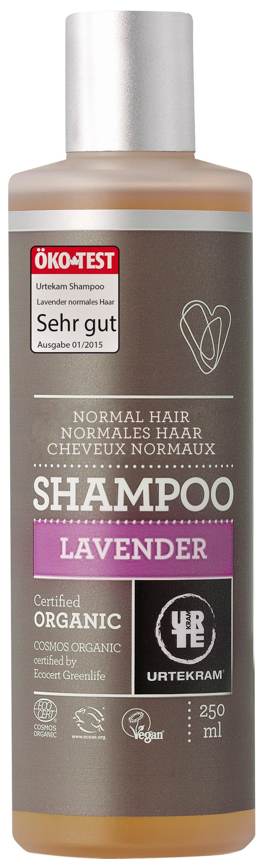 Urtekram Lavendel Shampoo - Normalt Hår - 250 ml