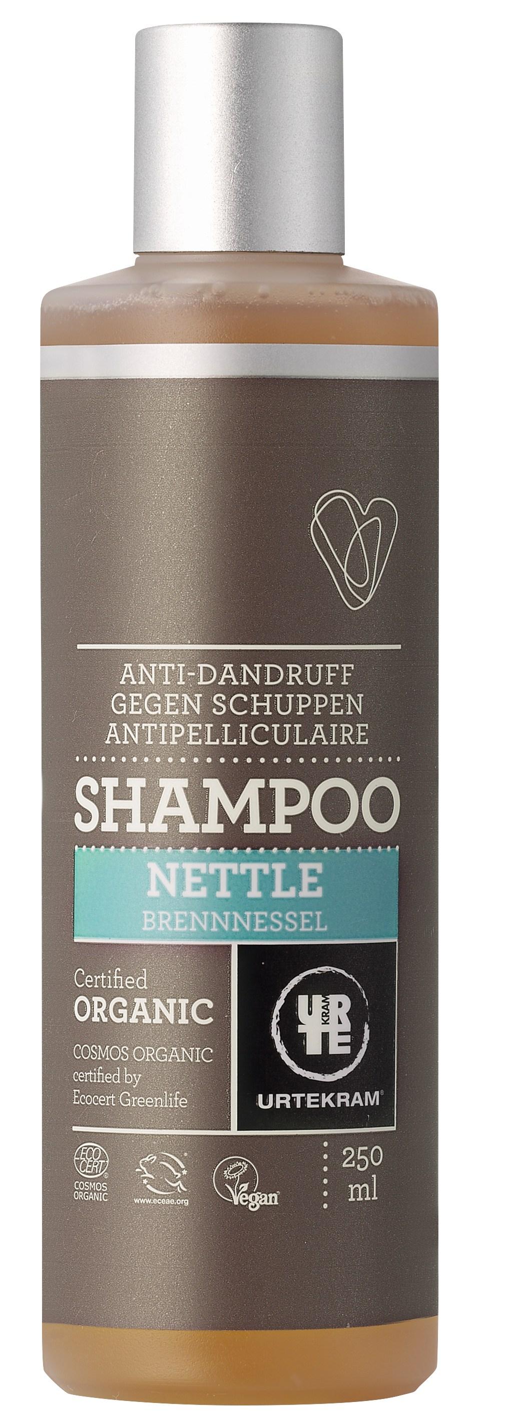 Urtekram Brændenælde Shampoo Mod Skæl - 250 ml