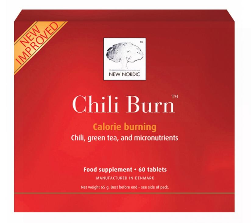 Billede af New Nordic Chili Burn - 60 Tabl